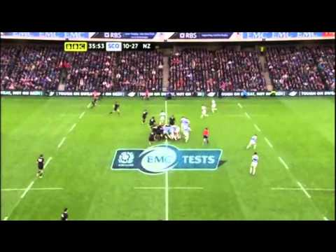 Dan Carter vs Scotland 2012