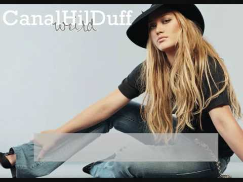 Hilary Duff - Weird
