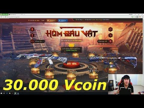 Quay hòm báu vật nhận Súng Prime với 30.000 vcoin - Tiền Zombie v4