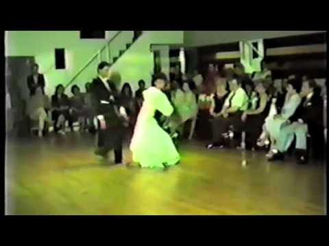 Pierre Dulaine and Yvonne Marceau Dancing the Waltz