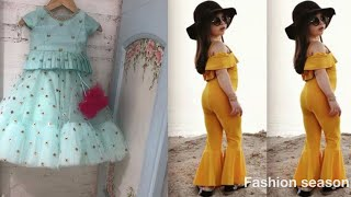 Little girl western &Indian dresses design || Baby Girl Dresses 2019 ||
