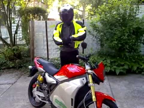 GPR-S Electric Motorcycle Introduction