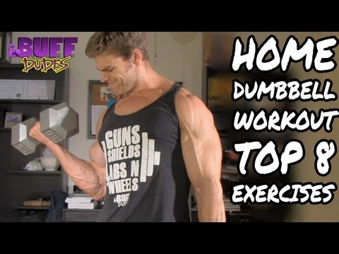 Home Workout Routine - Top 8 Dumbbell Exercises Image 1