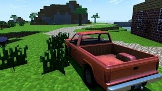 BeamNG.Drive Map : Minecraft Map on BeamNG