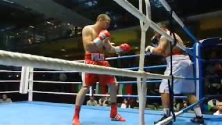 Tervel Pulev vs. Janjanin Boxing Fight 30 06 2017 in Berlin 1 Round
