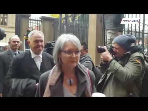 Legal Teams arrive for Oscar Pistorius court case