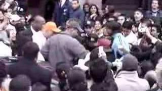 Sharukh Khan gets mad!