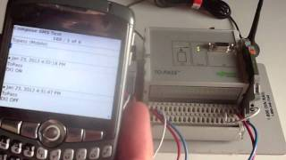 WAGO ToPass   Control I O with SMS text messages from a mobile phone