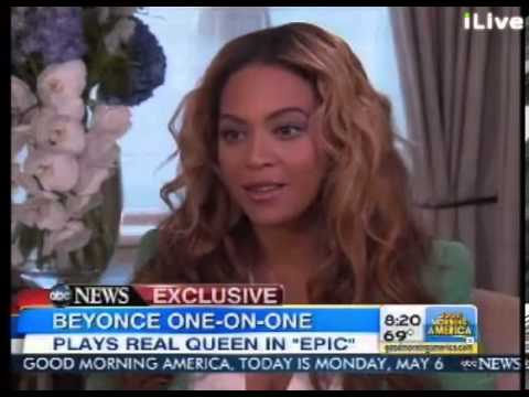 Beyonc on Good Morning America (GMA) 06.05.13