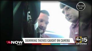Credit card skimmer found in gas pumps cross Valley