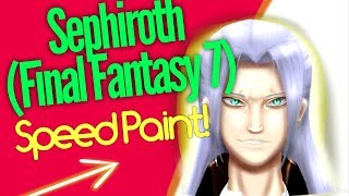 Sephiroth (Final Fantasy 7) Speed Paint!😊