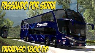 Descendo Serra a Toda - Paradiso 1800 DD Da Cometa - Euro Truck Simulator 2