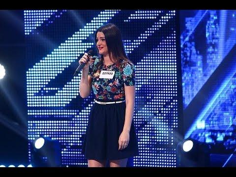 """Prezentare: Adriana Postovan, de la un duet cu Carla's Dreams, pe scena de la  """"X Factor"""""""