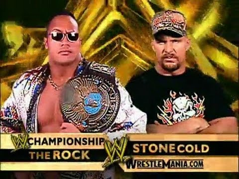 Wwe '13: The Rock Vs Stone Cold Wrestlemania 17 Promo video