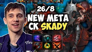 ARTEEZY INCREIBLE CHAOS KNIGHT CON SKADY 26 KILLS NEW META | DOTA 2