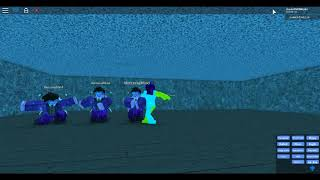 ROBLOX DANCE PARTY WITH THE BLUE MAN GROUP