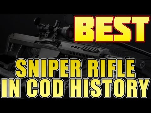 Best Sniper Rifle in Cod History Is? (Black Ops 2 VTOL Warship Gameplay)
