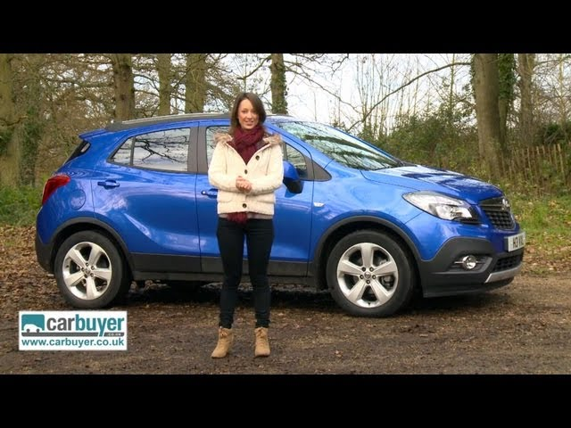 Vauxhall Mokka SUV 2013 review - CarBuyer - YouTube