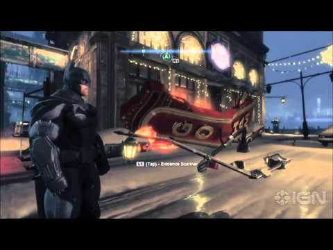 Batman: Arkham Origins Gameplay Demo - IGN Live - E3 2013