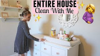 PREGNANT CLEANING ROUTINE | ENTIRE HOUSE CLEAN WITH ME | CLEANING MOTIVATION 2019 | Tara Henderson