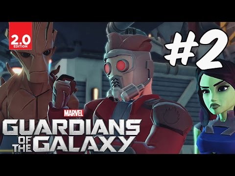 Guardians of the Galaxy - Part 2 (Power Full, Pest Control, Drop Everything!) Disney Infinity 2.0