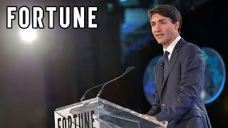 Global Forum 2018: Justin Trudeau Keynote I Fortune