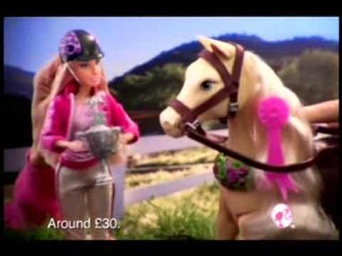 Barbie Jumping Tawny Set Commercial
