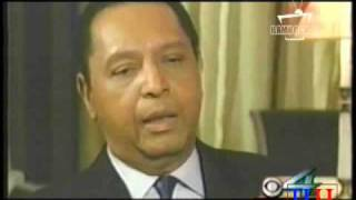 Jean Claude Duvalier Interview In Paris The First And Last Formal Interview After He Left Haiti