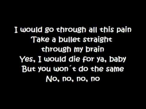 You had it all lyrics