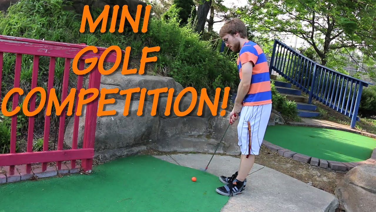 Cuộc thi Golr mini - MINI-GOLF COMPETITION!