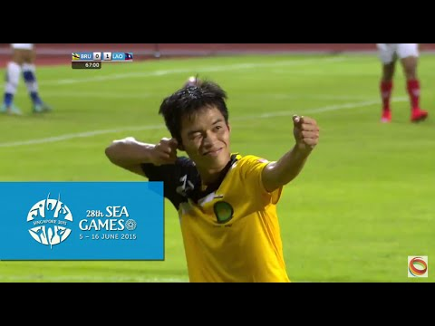 Football Brunei vs Laos  Full Match Highlights 31 May | 28th SEA Games Singapore 2015