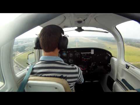 Piper Tomahawk Wallpaper Solo Flight Piper Tomahawk