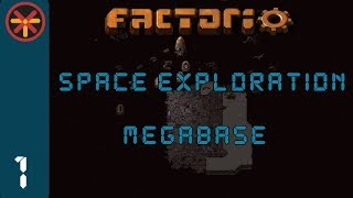 Factorio Space Exploration Grid Megabase EP1 - Off To A Good Start! : Gameplay, Lets Play