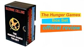 The Hunger Games Trilogy Boxed Set Review