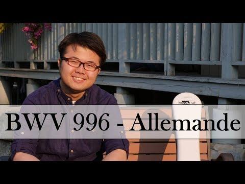 Бах Иоганн Себастьян - Suite For Lute Bmv 996 Allemande