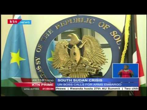 The South Sudan President Salva Kiir and his deputy ordered their loyalists to stop fighting