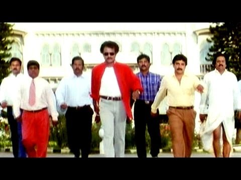 Narasimha Movie || Jeevitamante Poraatam Video Song || Rajnikanth...