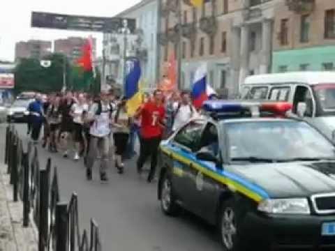 Русские пробежки. Макеевка 1 июня 2012