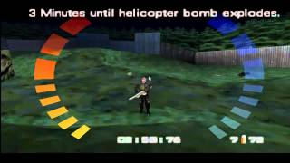 Goldeneye 007 Mission 10 Statue Park Agent difficult