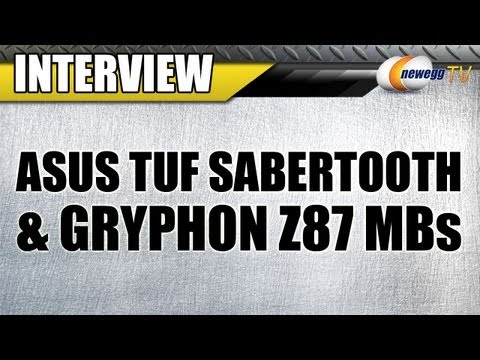 ASUS TUF Sabertooth & Gryphon Z87 Motherboards Overview with JJ - Newegg TV