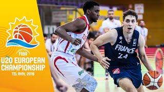 Turkey v France - Full Game - FIBA U20 European Championship 2019