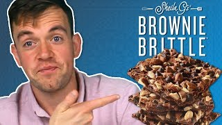 Irish People Try Sheila G's Brownie Brittle