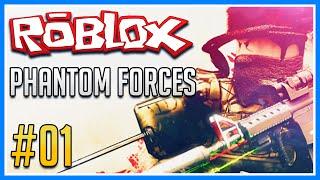 Roblox Gameplay   Phantom Forces Beta #1   SAVING PRIVATE CINDY!