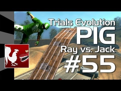 Trials Evolution - Achievement PIG #55 (Jack vs. Ray)