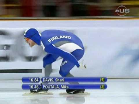 Shani Davis sweeps 1000m