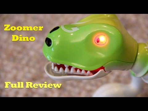 Zoomer Dino Boomer. Hands-On Review. Prehistoric Interactive Pet