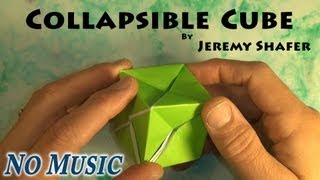 Collapsible Cube (no Music)