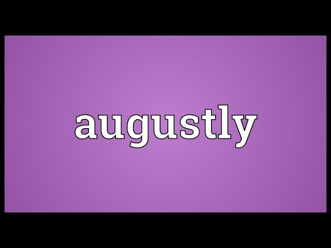 Header of augustly