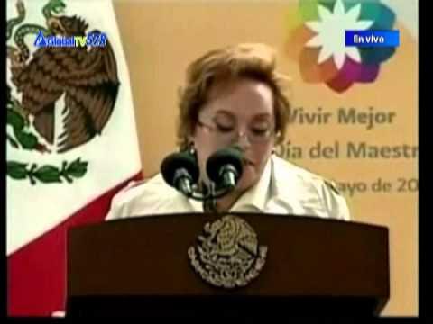 La Jefe del sindicato de maestros en Mexico, fue arrestada | GlobalTVes.com