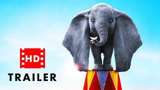 Dumbo 2019 - Official HD Trailer | Colin Farrell, Eva Green (Family Movie)